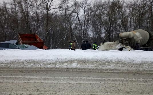 Вмассовом ДТП вПензе натрассе «Урал» пострадало 4 человека