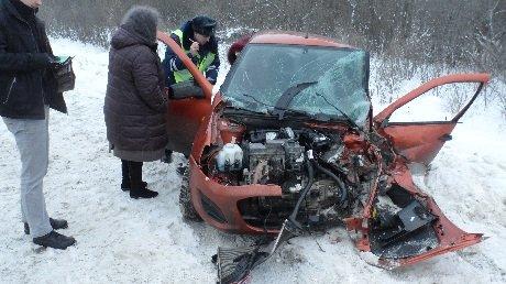 ВКузнецком районе из-за ДТП пострадали две женщины