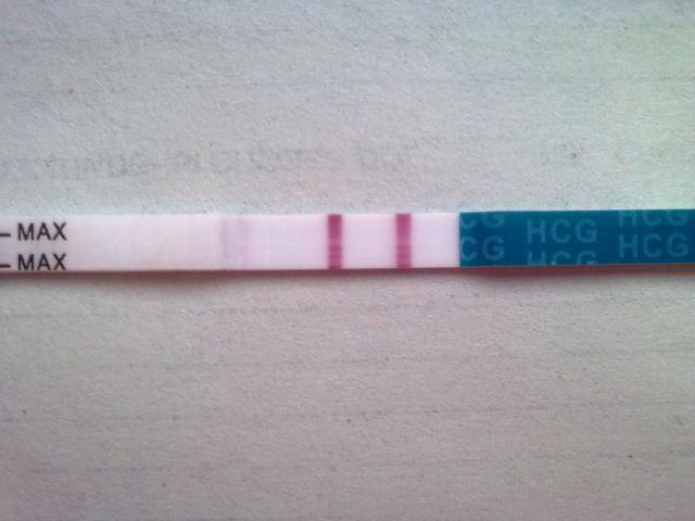 Фотка тест на беременность положительный