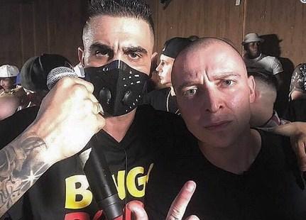 Русский рэпер Oxxxymiron и житель америки Dizaster провели батл вЛос-Анджелесе