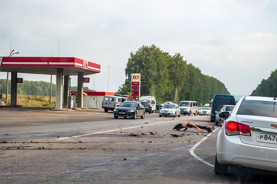 ВДТП счетырьмя автомобилями умер один человек