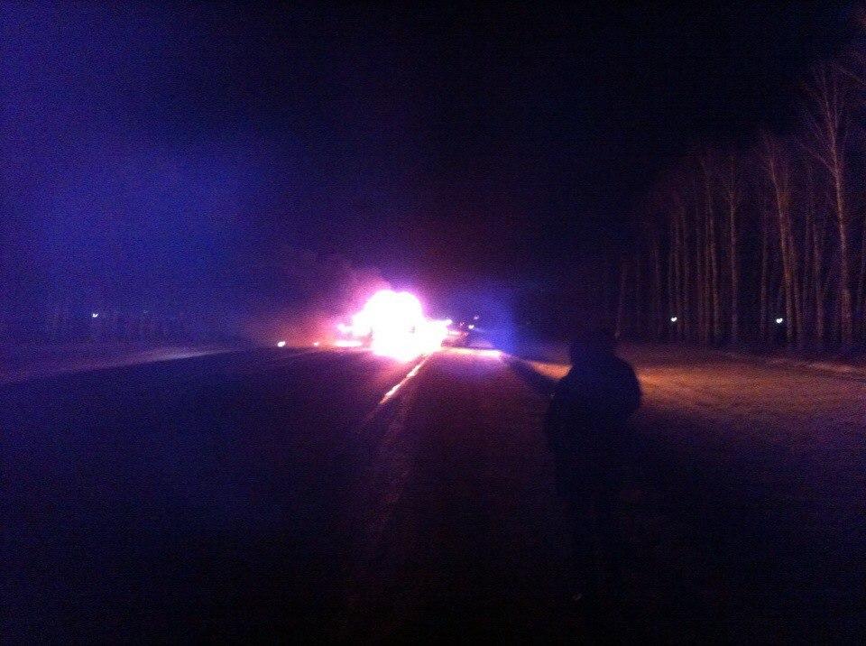 ВПензенской области водну трагедию попали три автомобиля