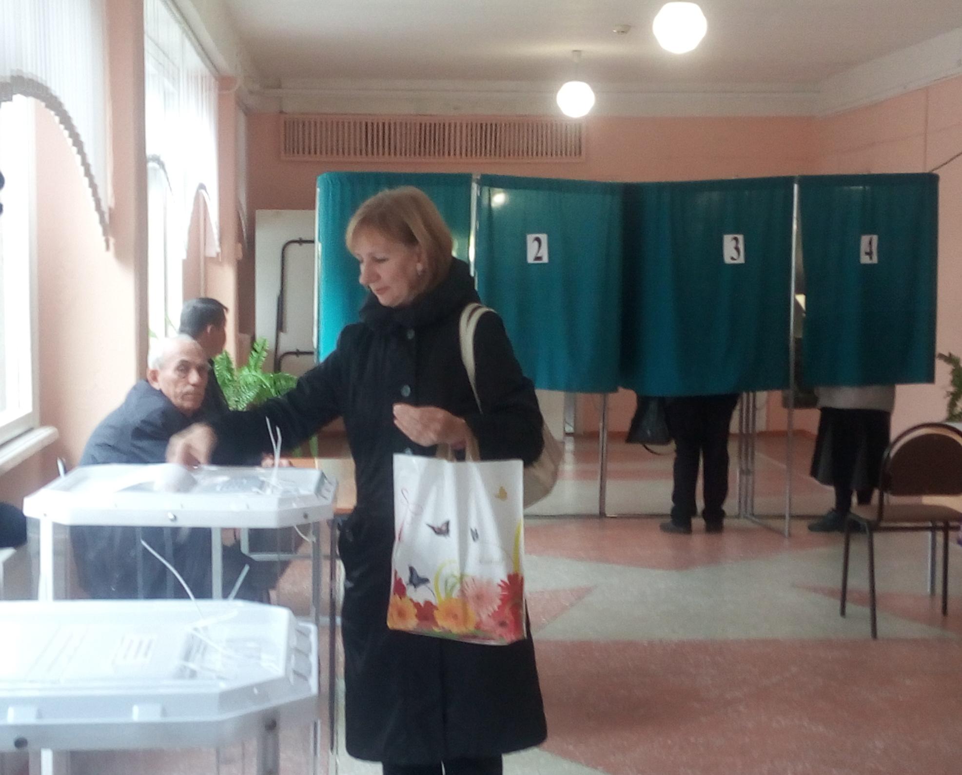 ВПензенской области отдала голос четверть всех избирателей