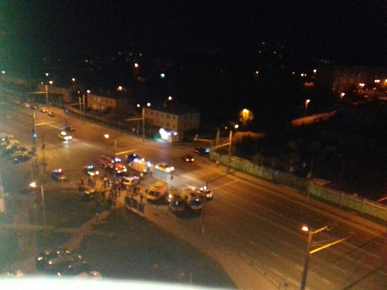 ВПензе вночное ДТП наулице Терновского попало семь человек