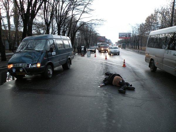 Натрассе Саранск-Пенза шофёр грузовой газели сбил женщину