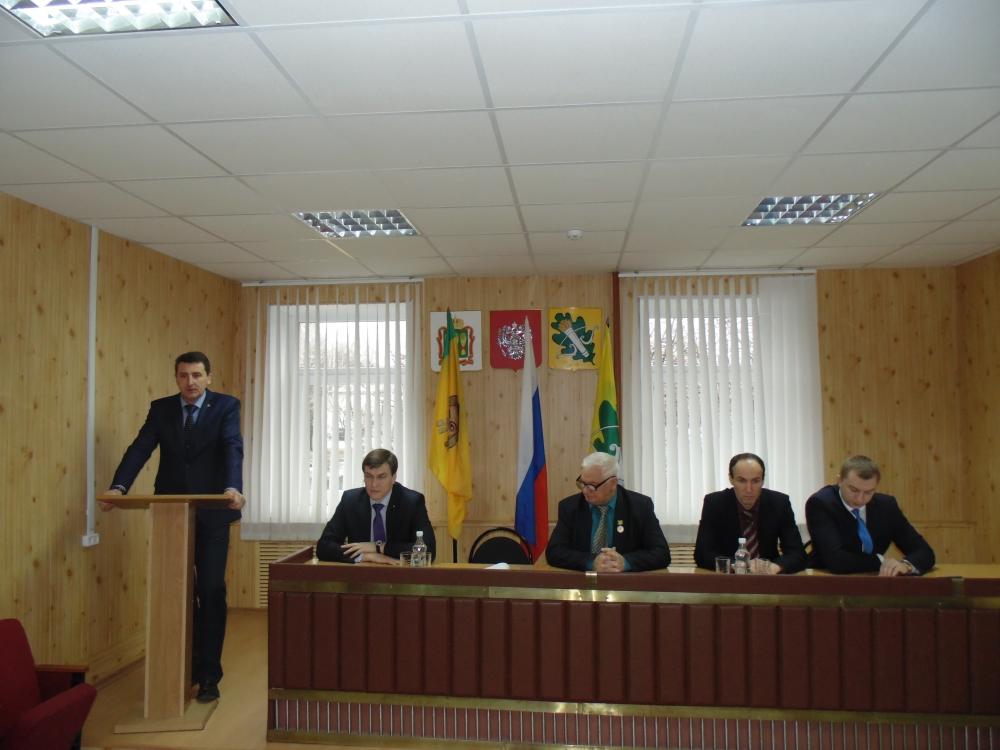 ВКолышлейском районе главой администрации назначен Александр Спирягин