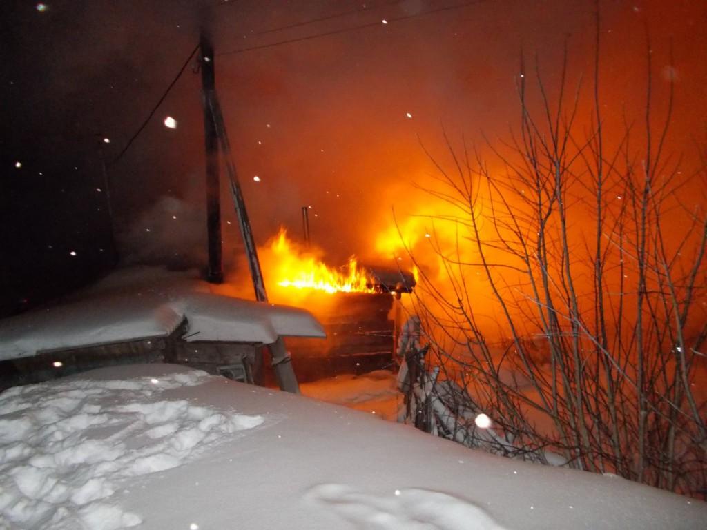 ВПензенской области впожаре  вдеревянном доме умер  67-летний пенсионер