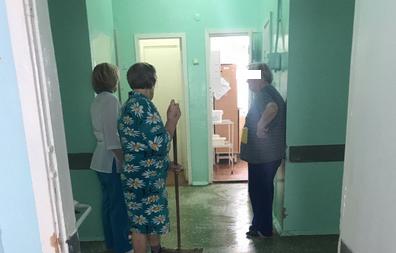 порно больнице уборщицей фото