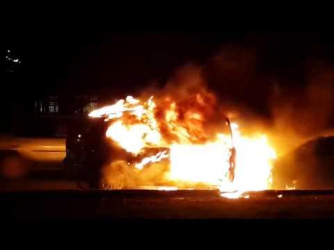 Наулице Бекешской вПензе сгорели две автомобиля