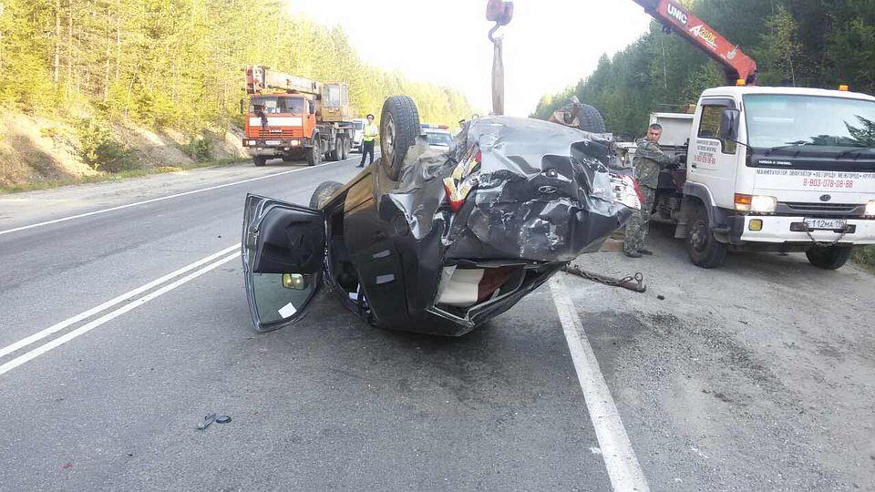 ВПензенской области перевернулась «Лада», скончался шофёр авто
