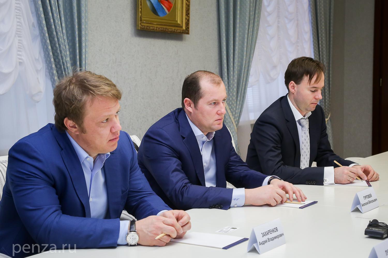 ВПензе обсудили возможность возведения завода поглубокой переработке пшеницы