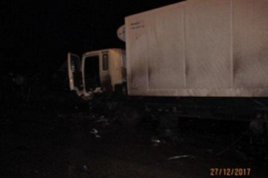 ВБессоновском районе вДТП с фургоном умер мужчина