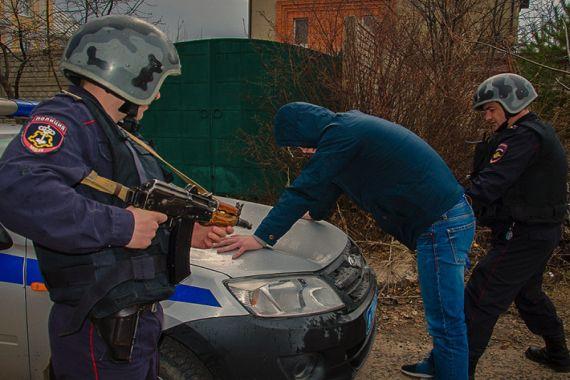 НаКПП взакрытом городе Пензенской области задержали мужчину, находящегося врозыске