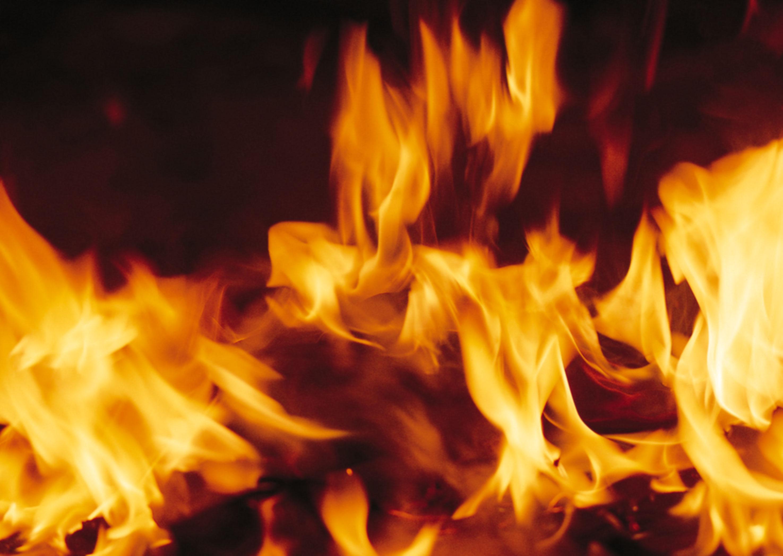ВСердобском районе 10 человек тушили серьезный пожар