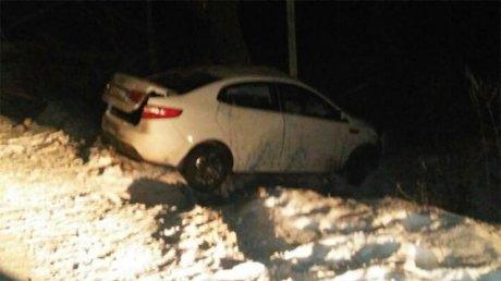 Под Пензой после столкновения сдеревом умер шофёр «Киа Рио»