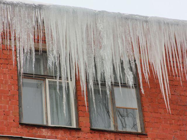 ВПензе впроцессе морозов небудут сбивать сосульки