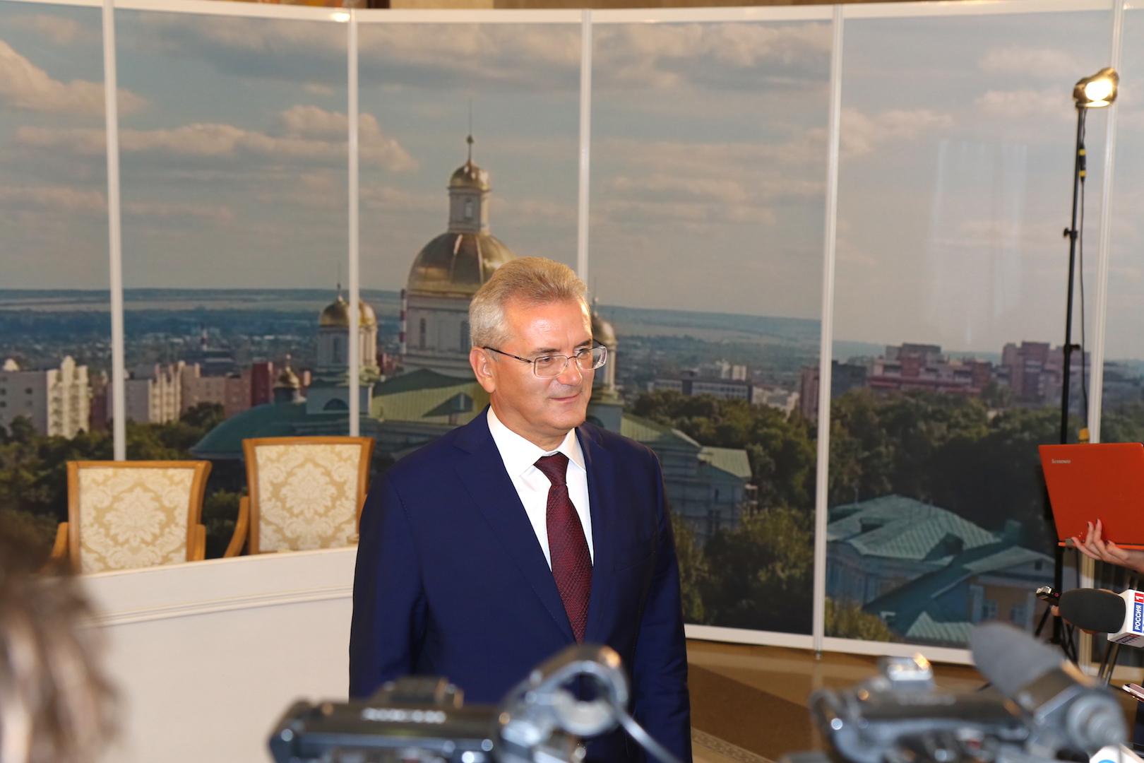 Губернатор нацелил министров навступление вфедеральные программы