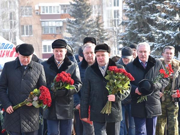 ВОренбурге состоялся праздничный митинг, посвященный Дню памяти воинов-интернационалистов