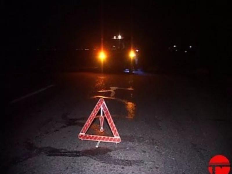 ВГрабово ночью врезались «Lexus» и«Chevrolet»