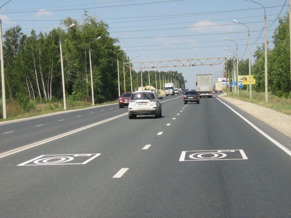 ВПензенской области установили дорожные камеры, фиксирующие выезд на«встречку»