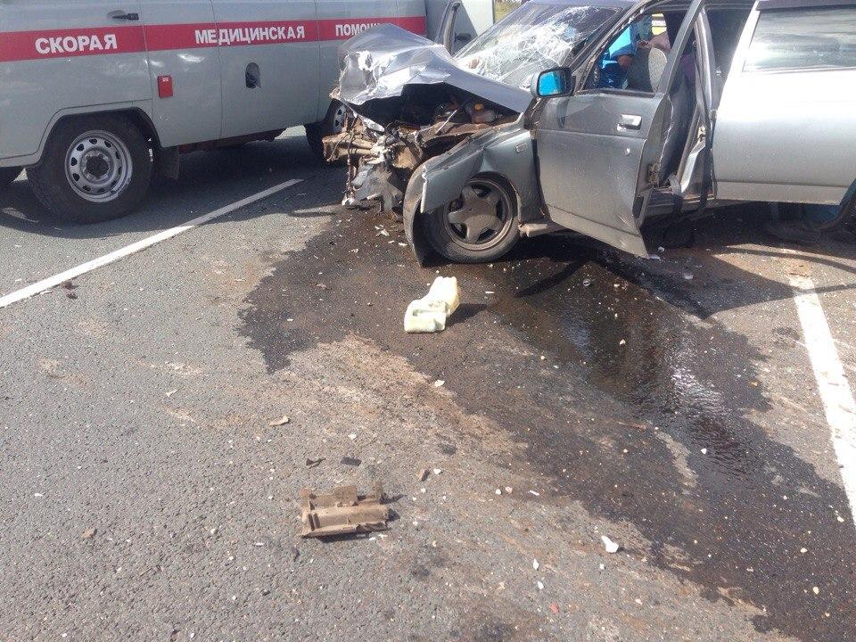 Две девушки погибли вДТП натрассе вМокшанском районе