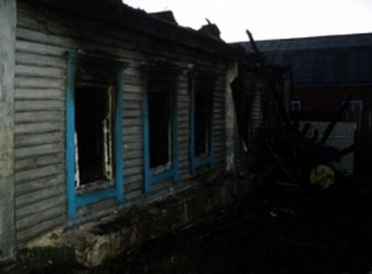 Ночной пожар вПачелмском районе тушили 15 огнеборцев