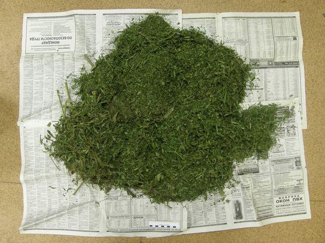 Ужителя Пензенской области изъяли неменее 143 граммов марихуаны