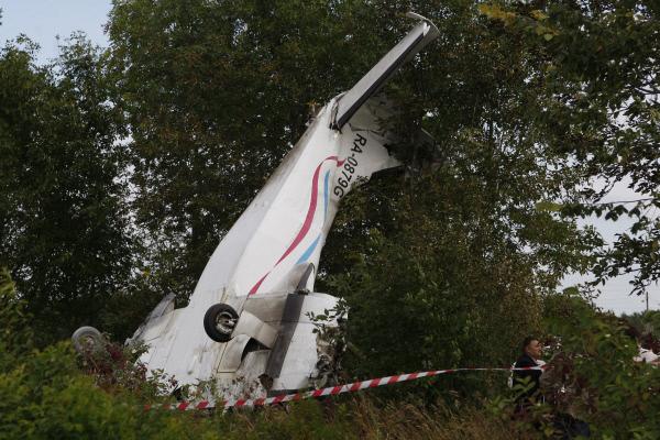 ВУльяновской области вполе отыскали брошенный Ан-2. Была жесткая посадка