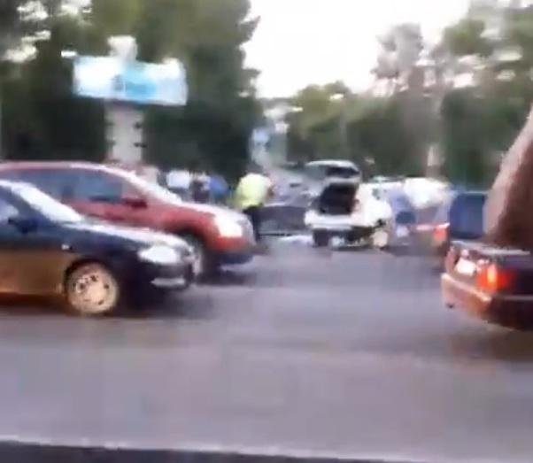 ВДТП напроспекте Победы умер мотоциклист