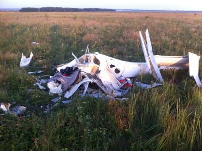 Под Пензой летчик умер при испытаниях нового планерного самолета