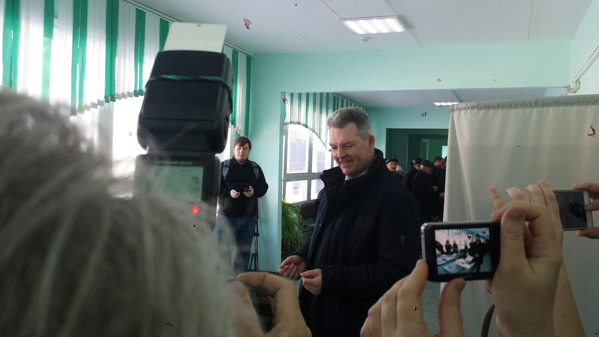 Летчик-космонавт Александр Самокутяев приехал навыборы Российского Президента вПензу
