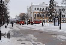 Ложный вызов пожар на Московской 13 января 2017