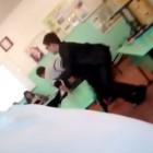 Преподаватель пытался задушить своего ученика прямо на уроке