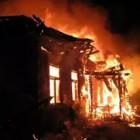В Камешкирском районе 10 спасателей тушили пожар
