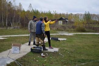 Пензенские школьники научились стрелять из ружья и карабкаться по скалам