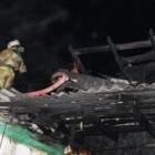 Полыхнувший дом в Пензенской области тушили 10 пожарных
