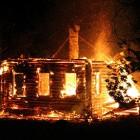 Из-за пожара житель Пензы остался без крыши над головой