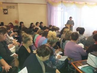 В пензенской детском саду № 141 поговорили на тему социально-коммуникативного развития дошкольников