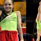 Пензенская гимнастка Наталья Капитонова выиграла четыре золотых медали и получила звание мастер спорта на соревнованиях «Надежды России»