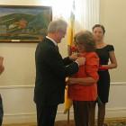 Актриса из Пензенского драмтеатра получила почетные награды от Белозерцева