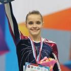 Гимнастка Наталья Капитонова привезла в Пензу пять медалей международного турнира