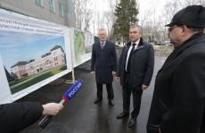 Председатель Госдумы Володин осмотрел здание скорой помощи на Пионерской в Пензе