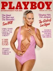Машина времени. «Playboy» переснял обложки журналов 70-80-х годов с теми же моделями