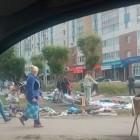 В Пензе на Тернопольской появился стихийный рынок