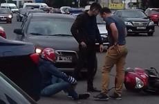 Дежавю. В Пензе около «Суворовского» снова сбили мотоциклиста