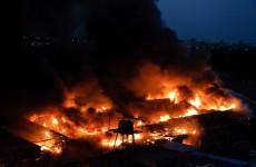 В Пензе в общежитии ПГАУ случился страшный ночной пожар