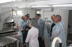 В селе Колемас Малосердобинского района открылся цех по производству сыров