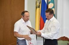 Председатель РОО «ТИКА Пензенской области» Акжигитов поблагодарил Кувайцева за Сабантуй