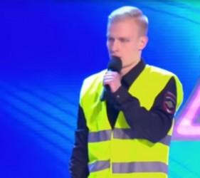 Пензенец из команды КВН полицейских «взорвал» на «Первом канале»