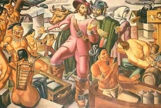 На картине 1937 года в руках индейца обнаружен «iPhone»